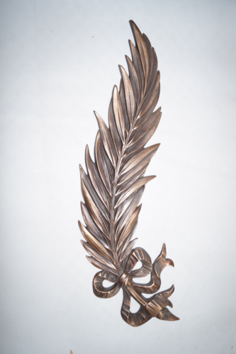 Bronze-Palme Strassacker 05470